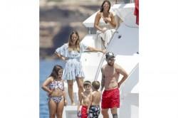 Lionel Messi Barcelona Star Enjoys Break Ibiza With Family