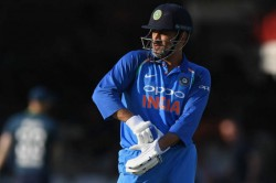 Ms Dhoni Gifted His Gloves A Fan While Boarding The Bus