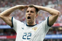 Fifa World Cup 2018 Russia 1 Spain 1 4 3 On Penalties Akinveev The Shootout Hero