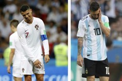 Fifa World Cup 2018 Cristiano Ronaldo Lionel Messi S Exit Send Twitter Into Overdrive
