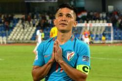 Sunil Chhetri Wins 2017 Aiff Player The Year Award
