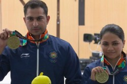 Asian Games 2018 India Win Mixed Air Rifle Bronze