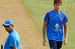 India Vs England Arjun Tendulkar Bowls Virat Kohli At Lords Watch Video