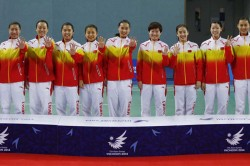 Team China Arrive Jakarta Ahead Asian Games