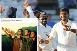 Bumrah Once Again Takes Wicket Off No Ball The Internet Has Lost Its Calm