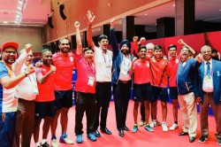 Asian Games 2018 Table Tennis India Men S Team Clinches Maiden Bronze In Asaid
