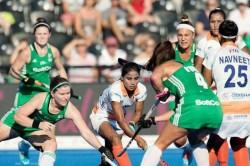 India Vs Ireland Women S Hockey World Cup Highlights India Lose To Ireland In Tie Breaker