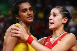 Carolina Marin Says Pv Sindhu Needed Control Nervousness The Final Match