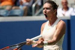Us Open 2018 Halep Crashes As Venus Serena Stephens Progress