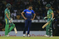 Sri Lanka Register Thrilling Victory Rain Affected Thriller