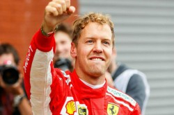 Vettel Wins Belgium After Dramatic Crash