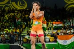 Asian Games 2018 Day 2 Wrestler Vinesh Phogat Wins Gold