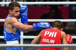 Asian Games 2018 Boxer Amit Panghal Beats Olympic Champion To Win Gold
