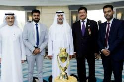 Asia Cup 2018 Trophy Unveiled Dubai