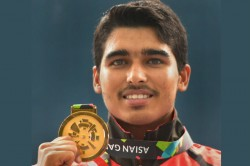 Shooting Saurabh Chaudhary Clinches Gold At Issf Junior World Championship