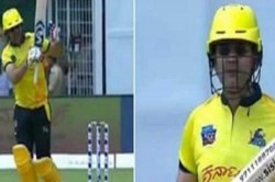 Watch Virender Sehwag Returns Pitch Smashes Opposition Bowlers Out Of The Park