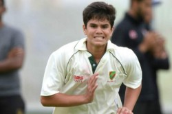 Arjun Tendulkar Stars Mumbai U 19 With Five Wicket Haul Against Gujarat U