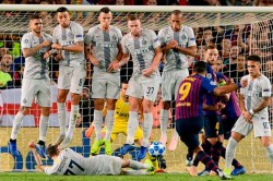 Injured Barcelona Star Lionel Messi Amused At Inventive Block By Inter Milans