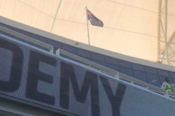 New Zealand Flag Hoisted Instead Australia S During First Day Of Dubai Test