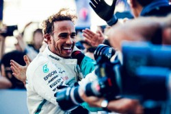 Hamilton Matches Fangio S Five As Verstappen Wins Mexican Grand Pix