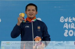 Youth Olympics Jeremy Lalrinnunga Wins India S First Ever Individual Weightlifting Gold