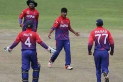 Nepal Humiliate China Take Just 11 Balls Chase Down Target
