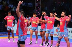 Pro Kabaddi 2018 Patna Pirates Vs U Mumba Match Highlights Mumbai Edge In A Thriller