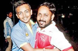 This One Is My Dad Prithvi Shaw Dedicates Debut Hundred His Hero
