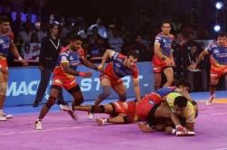 Pro Kabaddi League Pkl 6 Up Yoddha Beat Dabang Delhi 38