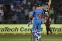 India Vs West Indies Virat Kohli 1st Indian Slam 3 Successive Odi Hundreds