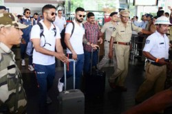 Team India Reaches Vizag 2nd Odi Virat Kohli On Cusp Another