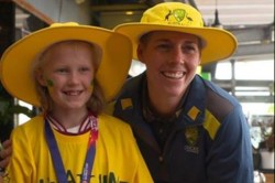 Young Gracie Her Dad Jumped On Last Minute Flight From Canberra This Morning To See Her Heroes