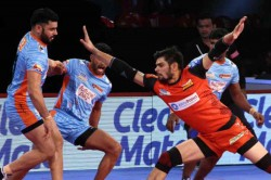 Pro Kabaddi 2018 Bengaluru Bulls Vs Telugu Titans Highlights