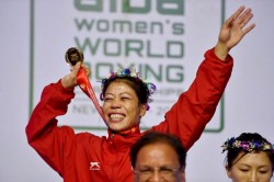 Olympics Gold My Dream Training Hard It Mary Kom
