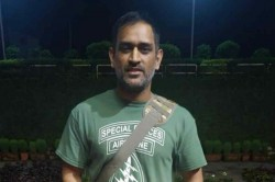 Ms Dhoni Takes Young Fan Surprise With Warm Handshake