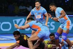 Pro Kabaddi 2018 Bengal Warriors Vs Up Yoddha Highlights