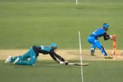 Big Bash League Third Umpire Gives James Pattinson Out Opponents