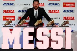 Lionel Messi Bags Fifth Golden Shoe Award I Didn T Expect This