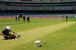 India Vs Australia Michael Vaughan Says Green Top Perth Could Backfire On Australia
