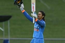Smriti Mandhana Hundred Helps India Crush New Zealand 9 Wickets In 1st Odi
