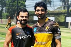 Lahore Qalandars Pacers Bowl At Indian Batsmen The Nets