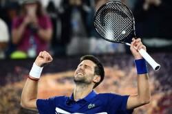 Australian Open 2019 Novak Djokovic Destroys Lucas Pouille To Set Up Rafael Nadal Showdown