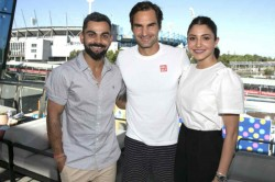 When Legends Meet Virat Kohli Posts Priceless Photo With Roger Federer At Australian Open
