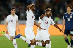 Japan 1 Qatar 3 Almoez Ali Leads Sanchez S Men Maiden Afc Asian Cup Title