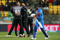 India Vs New Zealand 1st T20i Highlights Ms Dhoni Cameo Vain As India Go Down To Nz By 80 Runs