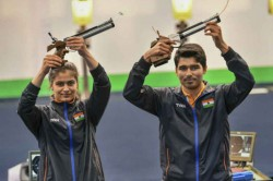 Saurabh Manu Combine Shoot Gold 10m Air Pistol Mixed Event