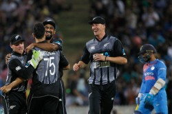 India Vs New Zealand 3rd T20i Highlights India Fall Agonisngly Short As Nz Claims Series 2
