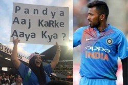 Woman Uses Banner Troll Hardik Pandya Over Koffee With Karan Controversy