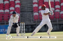 Afghanistan Vs Ireland Only Test Day 1 Highlights Afghans On Top After Irish Collapse