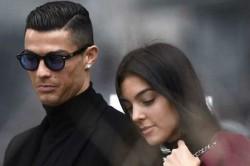 Cristiano Ronaldo Hat Trick Makes Girlfriend Georgina Rodriguez Cry Tears Of Joy Watch